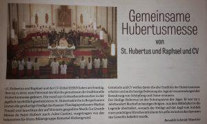 Hubertusmesse 2017