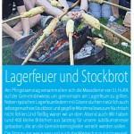 Lagerfeuer+Stockbrot